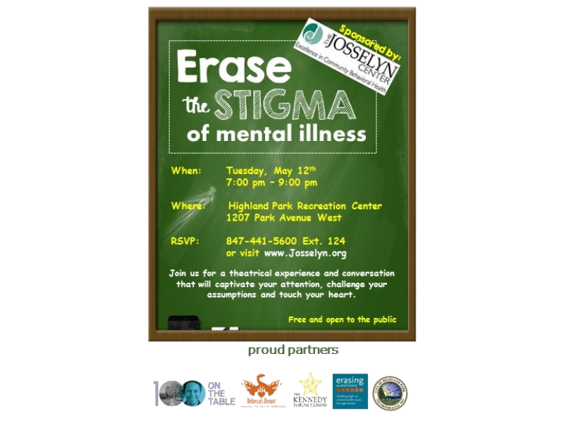 the stigma of mental illness No matter how you contribute to the mental health movement, you can make a difference simply by knowing that mental illness is not anyone's fault, no matter what societal stigma says you can make a difference by being and living stigmafree.